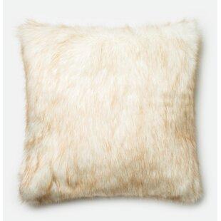 Ostlund Faux Fur Throw Pillow