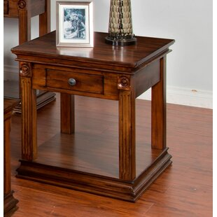Birney End Table by Loon Peak Great price