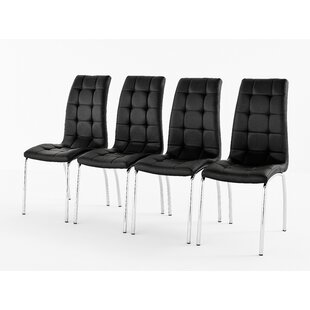 Liam Upholstered Dining Chair (Set Of 4) By Wade Logan