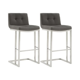 Delmar Bar Stool (Set Of 2) By Mercury Row