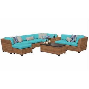 Places to buy  Waterbury 10 Piece Sectional Seating Group with Cushions Great price