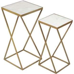 Lecuyer 2 Piece Nesting Tables