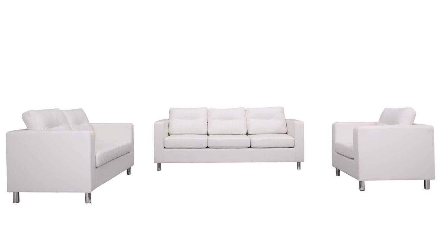 Clarence 4 Piece Living Room Set & Reviews | AllModern