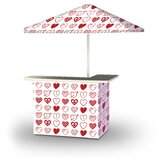 Allensworth Valentines Hearts 2-Piece Home Bar Set