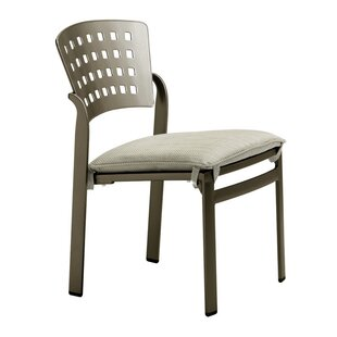 Impressions Stacking Patio Dining Chair with Cushion