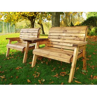 Pacheco Wooden Love Seat By Sol 72 Outdoor