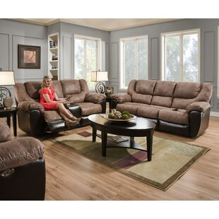 Derosier Reclining Configurable Living Room Set