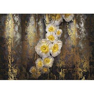 Modern contemporary wallpaper allmodern komar serafina 12 x 996 wall mural thecheapjerseys Images