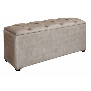 Moules Isabel Upholstered Storage Bench by Red Barrel Studio