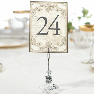 Table Numbers 1 24