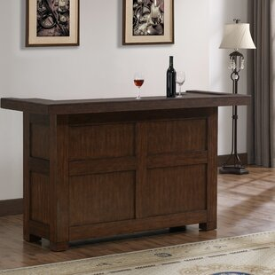 Canora Grey Greggory Bar with Wine Storage