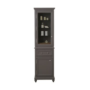 Hammondale 21 W x 72 H Linen Tower by Canora Grey