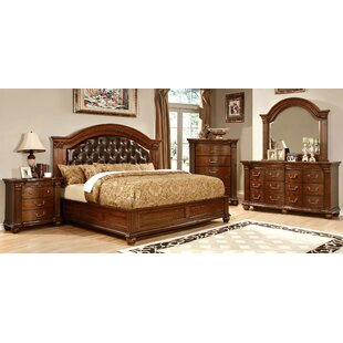 Pugh Upholstered Panel Bed