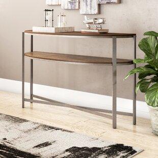Rowan Demi-Lune Console Table