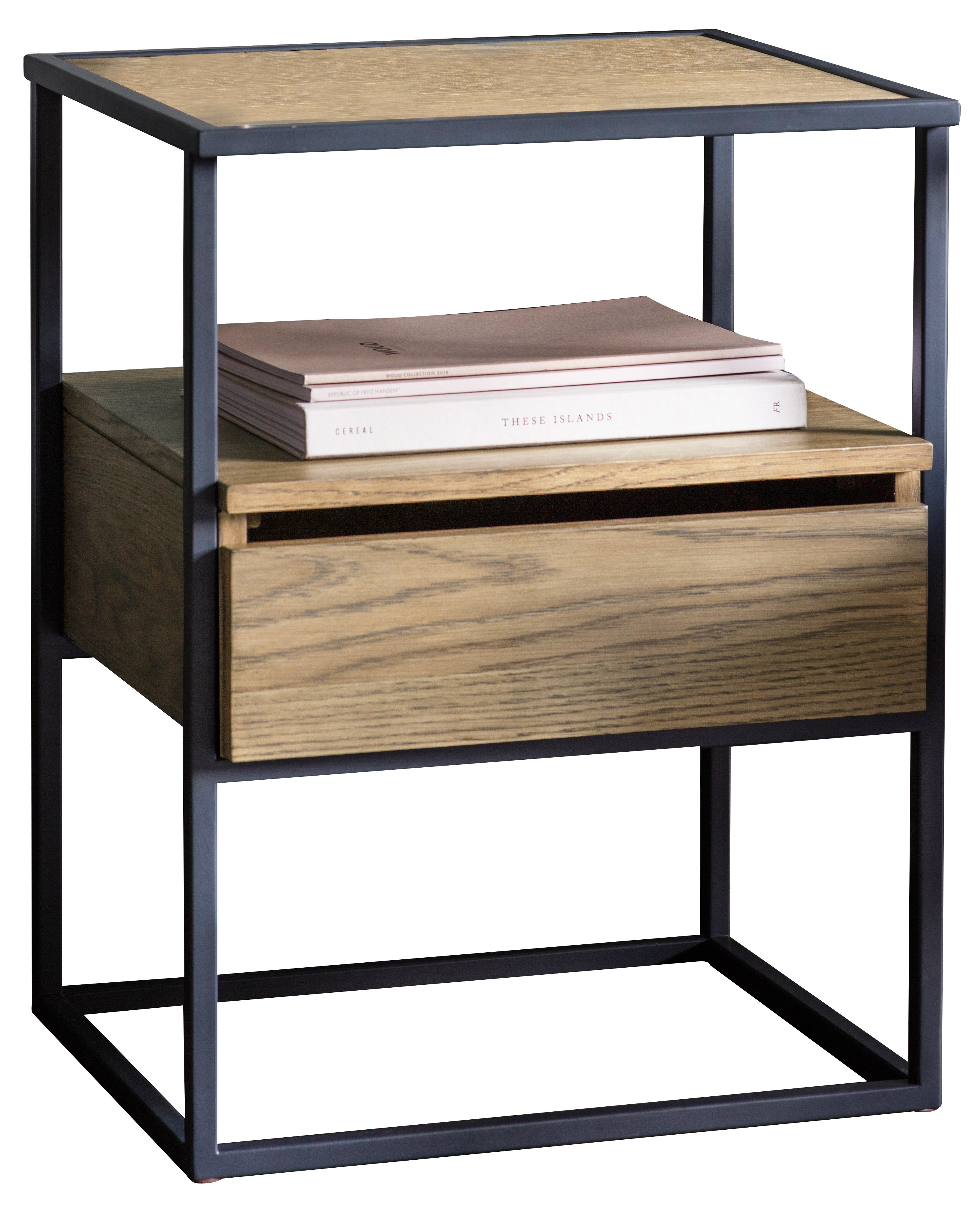 Marvelous Dames Side Table With Storage Download Free Architecture Designs Embacsunscenecom