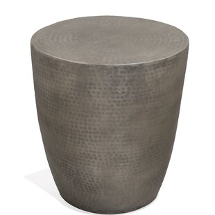 Issleib Drum End Table by World Menagerie
