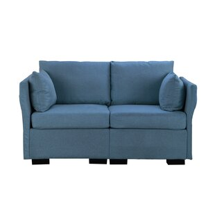 Shop For Nueva Loveseat by Wrought Studio