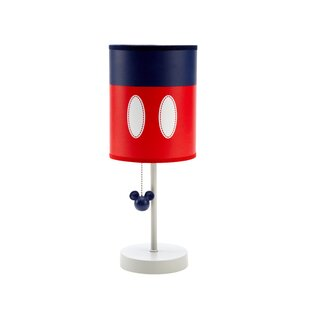 Mickey mouse lamps wayfair mickey best buddies 17 table lamp aloadofball Images