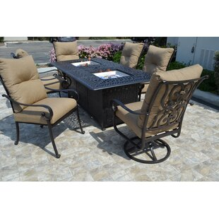 K&B Patio Florence 7 Piece Dining Set