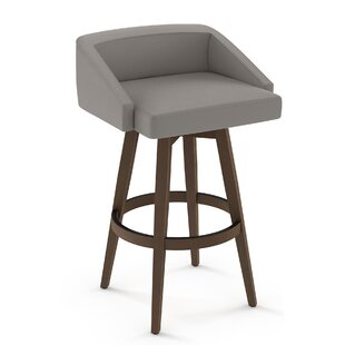 Leesa 30 Swivel Bar Stool Brayden Studio