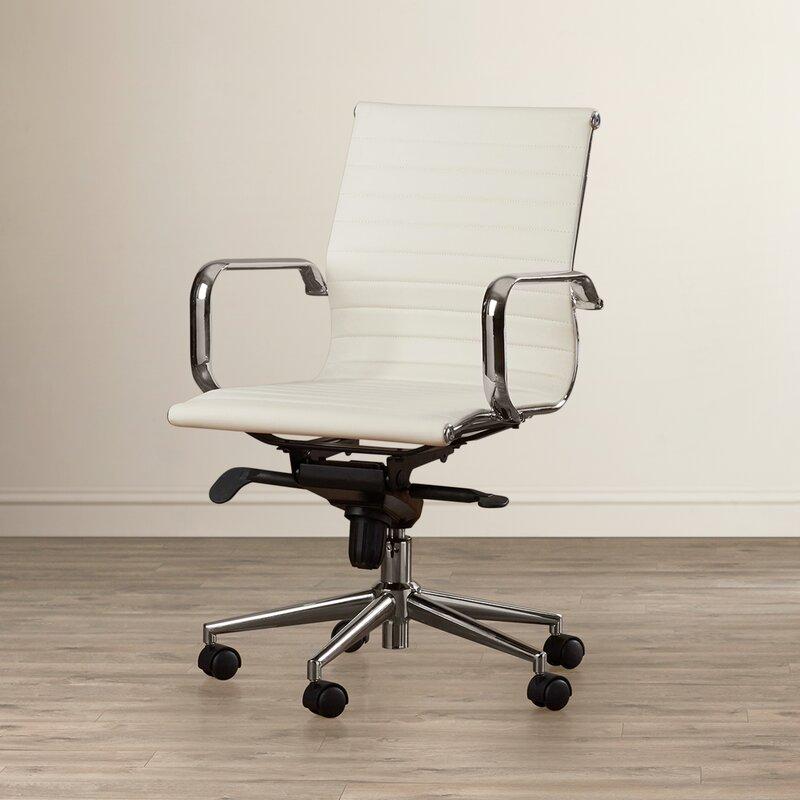 Annabell Mid Back Desk Chair Amp Reviews Allmodern