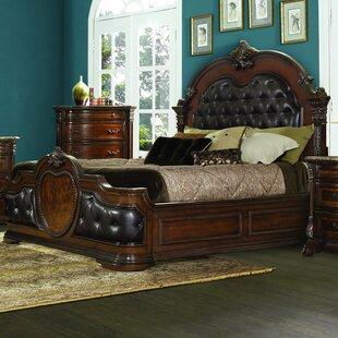 Where buy  Antoinetta Upholstered Panel Bed By Homelegance