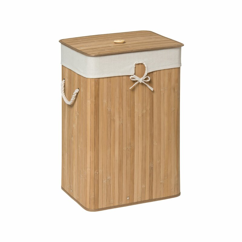 Kankyo Rectangular Laundry Bin with Lid  sc 1 st  Wayfair & Laundry Baskets u0026 Bags | Wayfair.co.uk Aboutintivar.Com