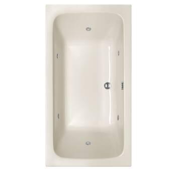 Americh Miro 66 X 30 Drop In Soaking Bathtub Wayfair