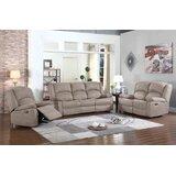 Salinas 2 Piece Reclining Living Room Set by Canora Grey
