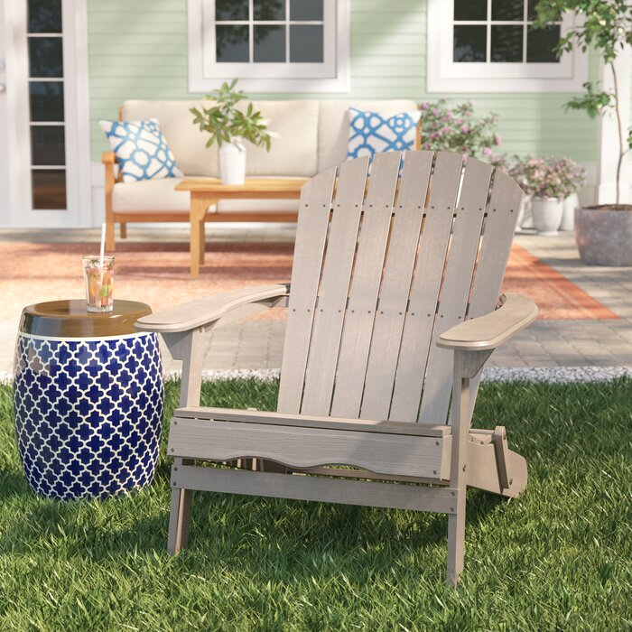 Enjoyable Ridgeline Solid Wood Folding Adirondack Chair Caraccident5 Cool Chair Designs And Ideas Caraccident5Info