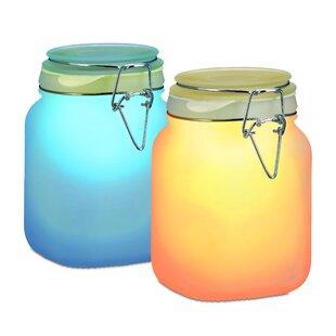 Jaqueline Solar Lantern Sun Jar Light LED Decorative Light Image