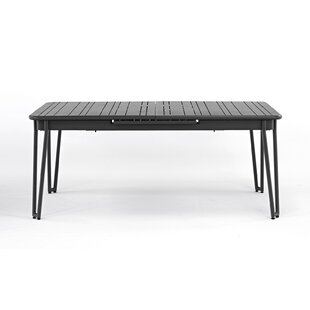 Mallen Extendable  Aluminium Dining Table By Sol 72 Outdoor
