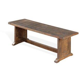 Gracie Oaks Calina Side Wood Bench
