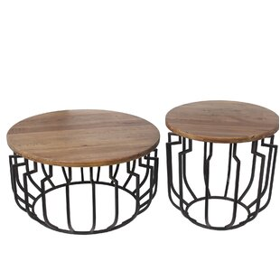Donavon 2 Piece End Table Set by Gracie O..