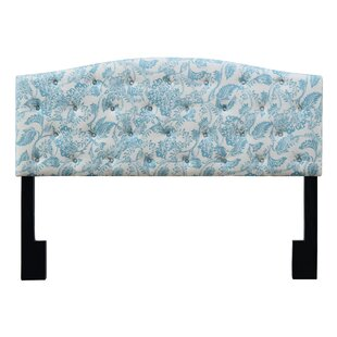 Reviews Rodriquez Upholstered Panel Headboard by Winston Porter
