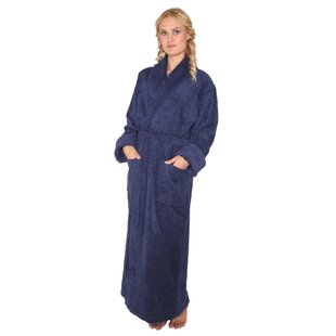 a546fd37f9 Laurens Women s Optimal Shawl Collar 100% Cotton Terry Cloth Bathrobe