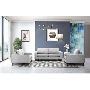 Courter Sleeper 3 Pieces Living Room Set by Corrigan Studio