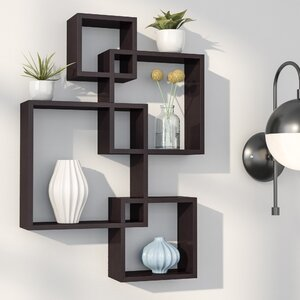 Elizabella Intersecting Cubes Shelf