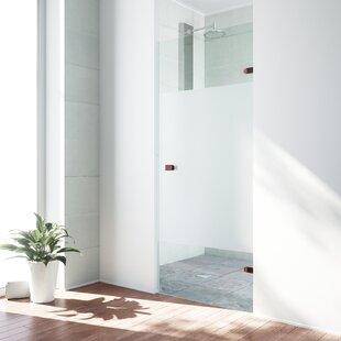 Great Price Tempo 28.5 x 70.63 Hinged Frameless Shower Door ByVIGO