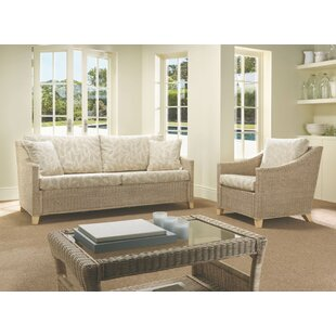 Read Reviews Carly 3 Piece Conservatory Sofa Set