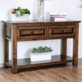 Burr 48 Solid Wood Console Table by Millwood Pines