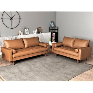 Appin 2 Piece Living Room Set by Wrought Studio™
