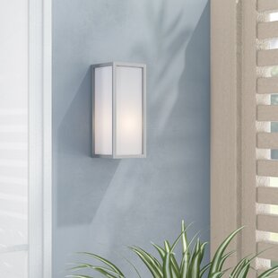 Burel 1-Light Outdoor Flush Mount