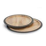 Leland 2 Piece Platter Set