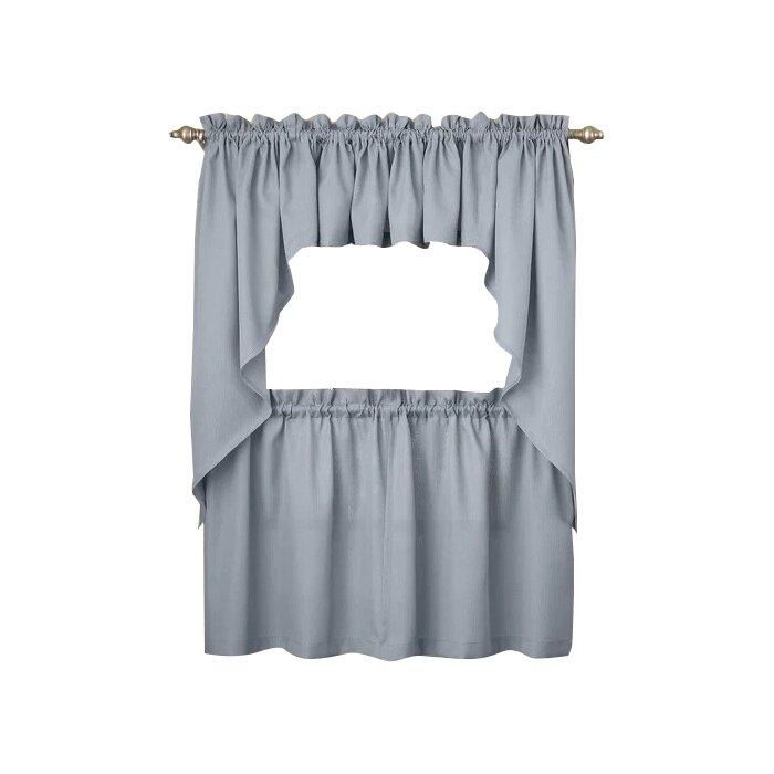 Ennis Kitchen Tier Cafe Curtain