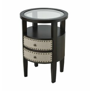 Folsom End Table with Storage by Darby Home Co