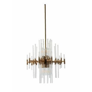 Hauge 8-Light Geometric Ch..