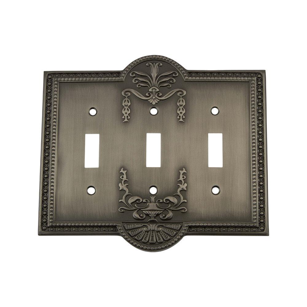 Nostalgic Warehouse Meadows 3 Gang Toggle Light Switch Wall Plate Reviews Wayfair