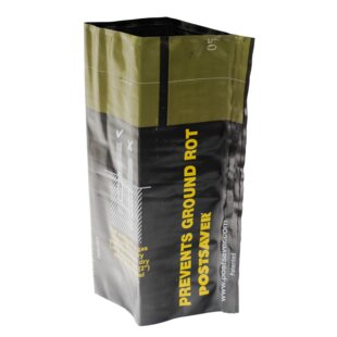 Gate Post Ground Rot Protection 1.6' X 1.2' (0.5m X 0.4m) (Set Of 5) By Postsaver