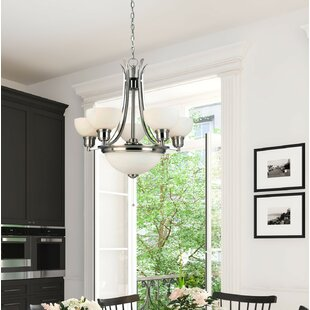 Charlton Home North Attleborough 7-Light Shaded Chandelier